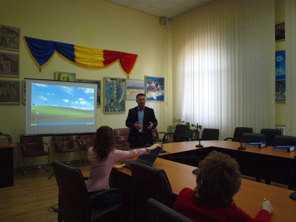 Primarul Marian Iordache a prezentat proiectul privind taxele și impozitele locale