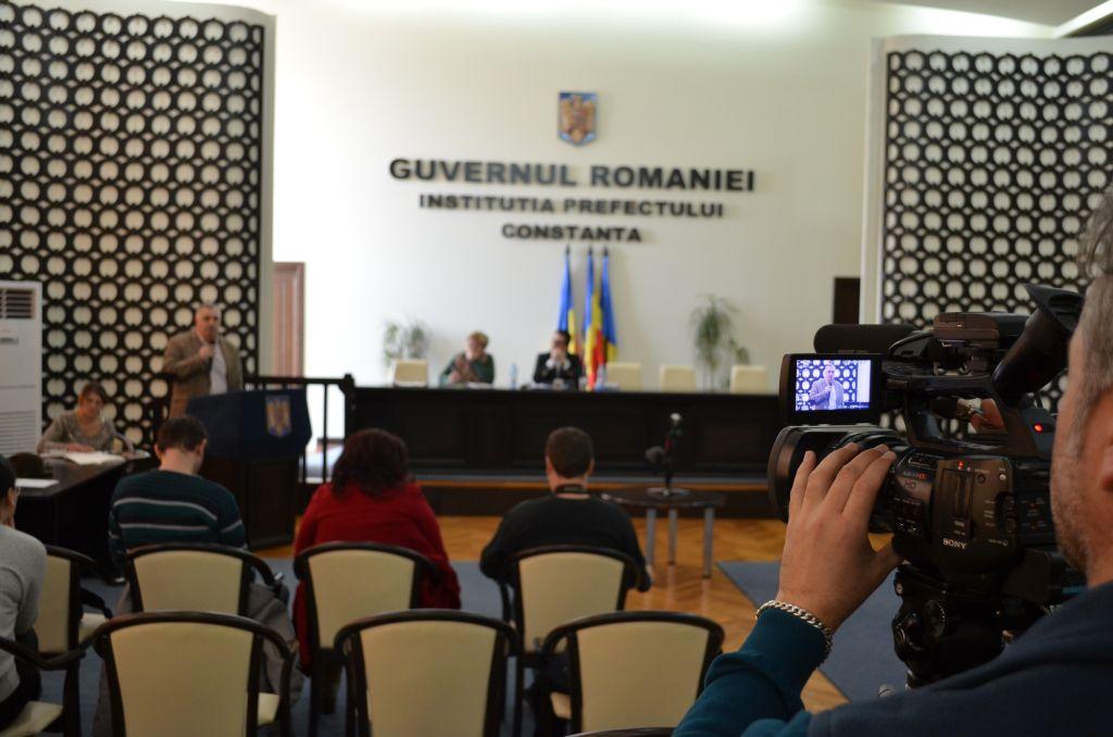 Dezbaterea bugetului Constanței. Mai mulți jurnaliști decât participanți