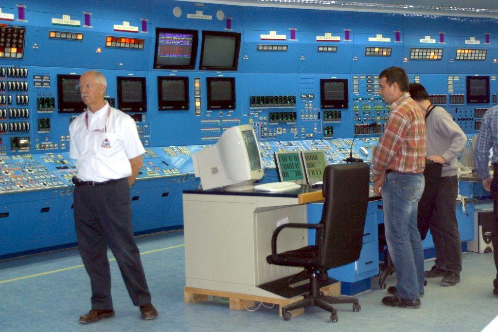 Centrul de comandă al centralei nucleare de la Cernavodă