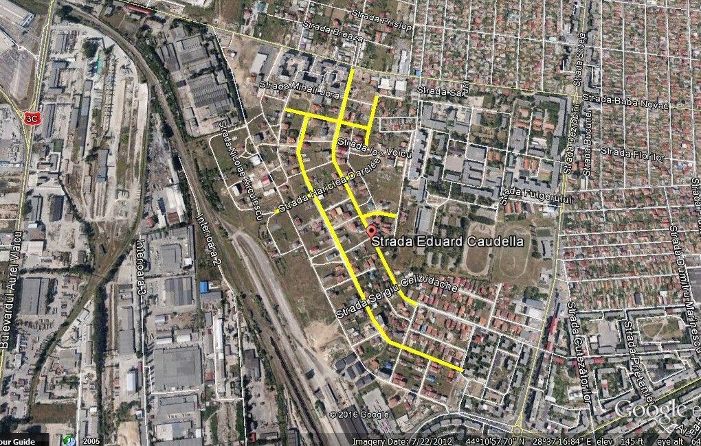 compoitorilor harta strazi propuse asfaltare