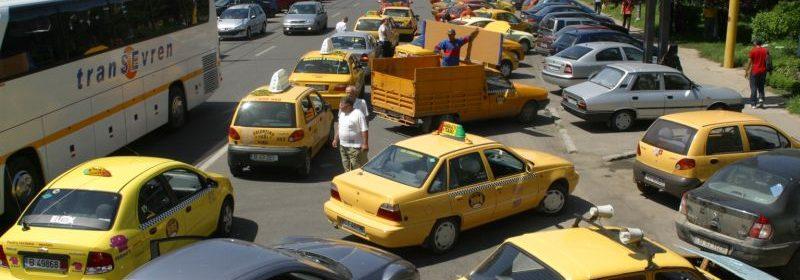 proteste ale taximetristilor