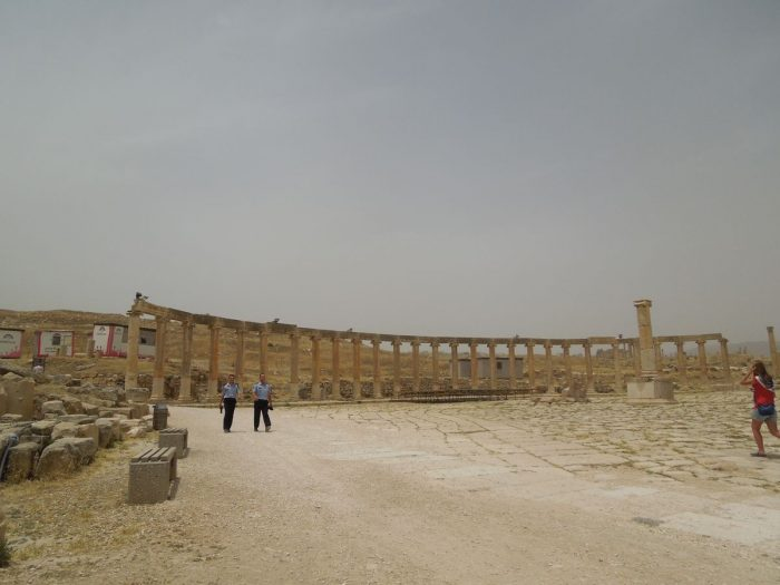 Coloane din anticul Jerash