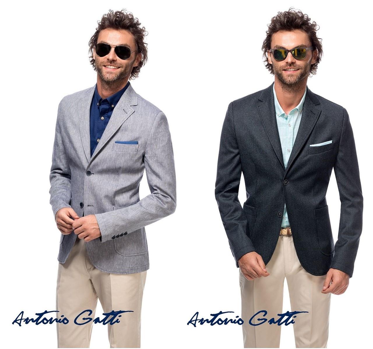 Sacouri bărbătești Antonio Gatti