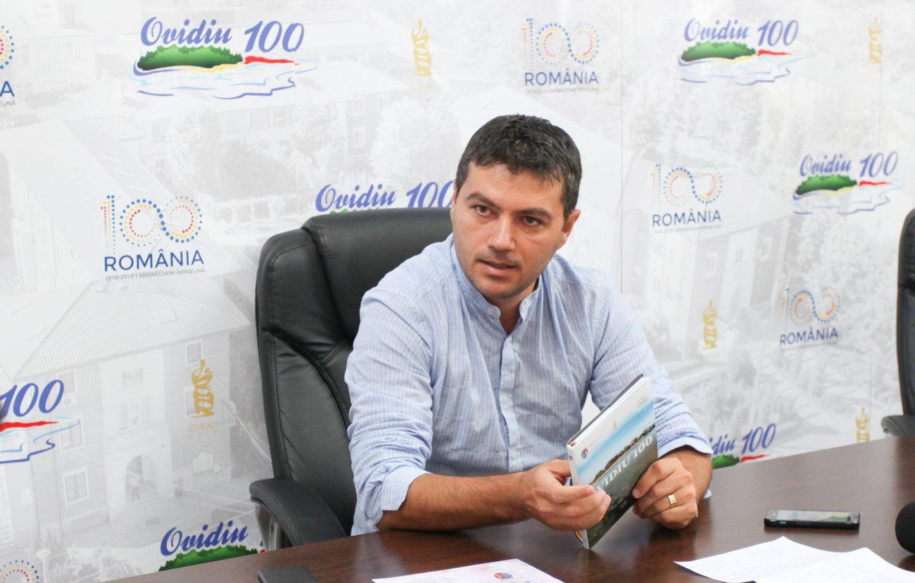 George Scupra, primarul din Ovidiu