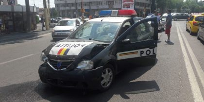 accident politist