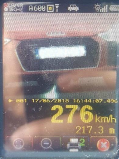 record viteza autostrada