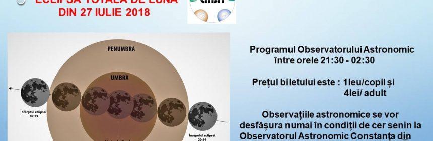 planetariu eclipsă