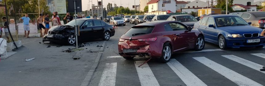 accident mamaia nord