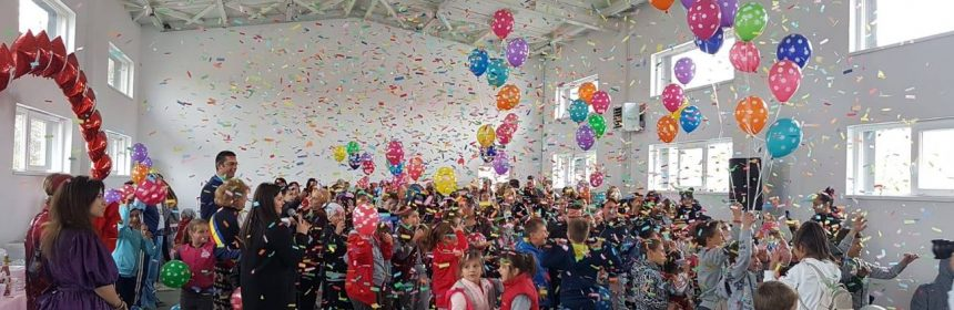 Sală de sport construită în comuna Grădina (foto: Consiliul Județean Constanța)