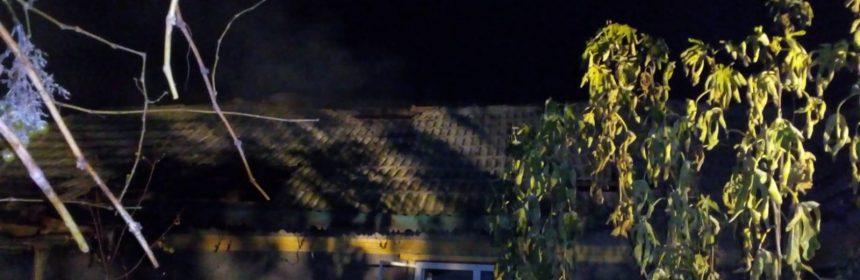 Casa în care a avut loc incendiul (foto: ISU Dobrogea)