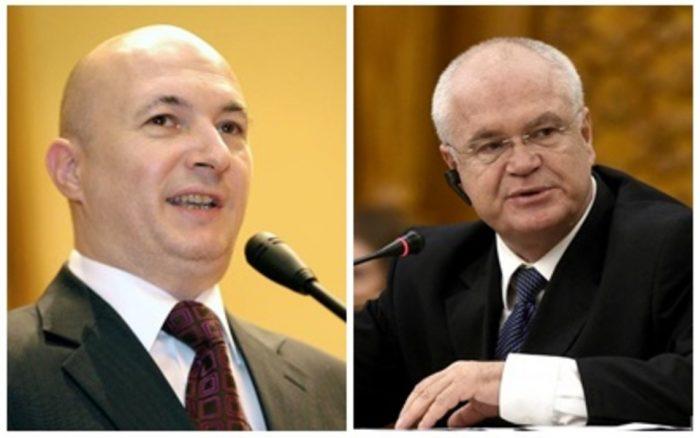 Codrin Ștefănescu și Eugen Nicolicea