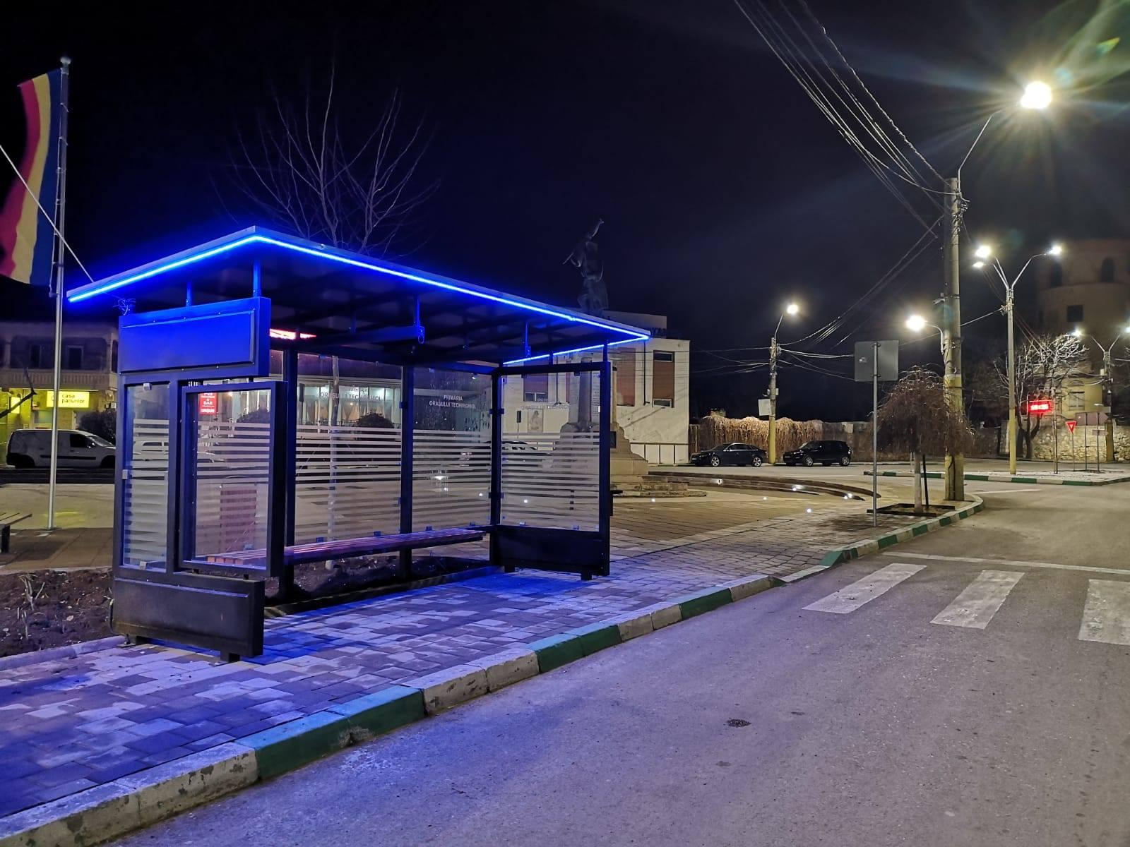Stație nouă de călători în Techirghiol