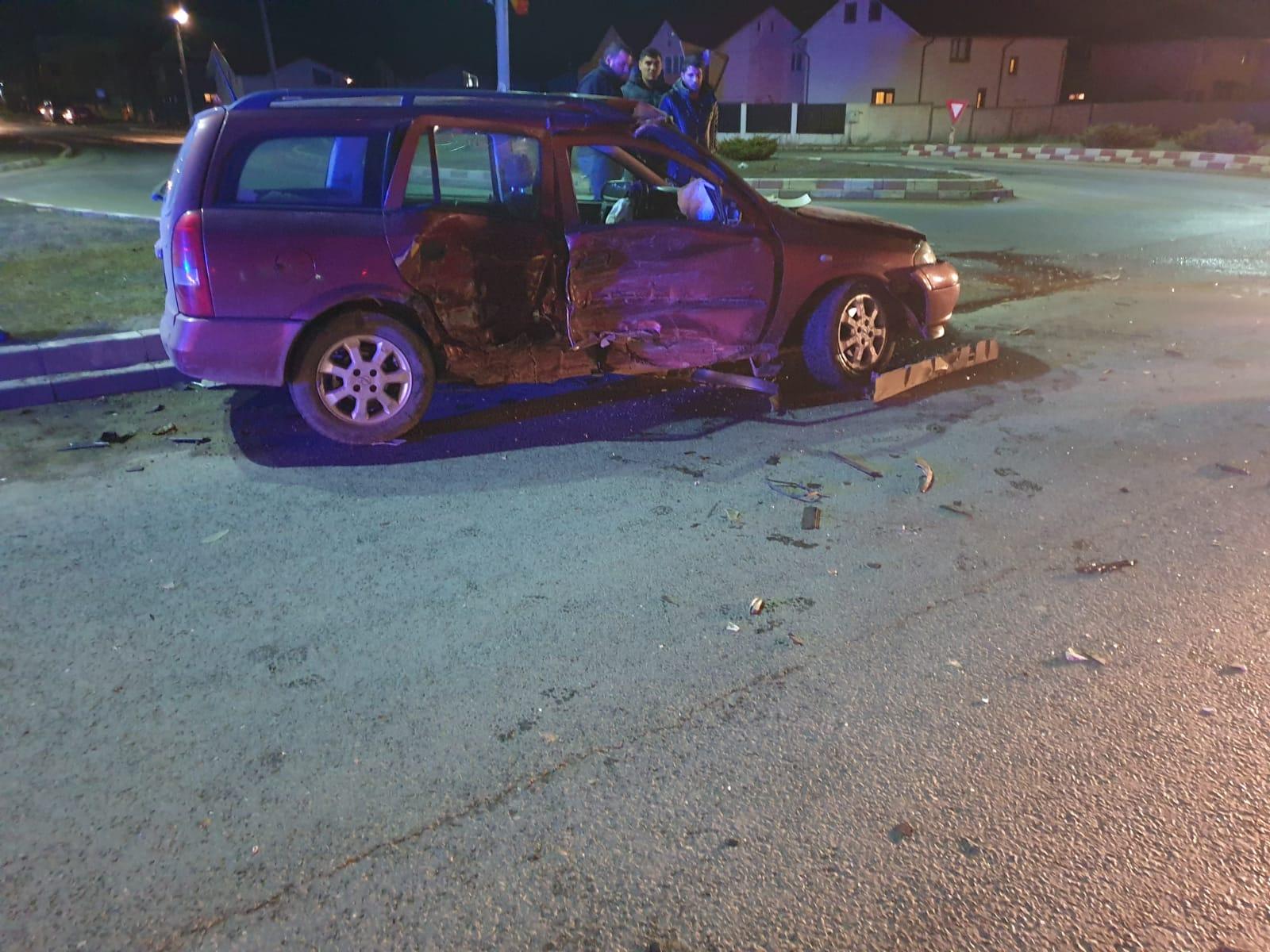 Accident rutier cu patru victime în Constanța