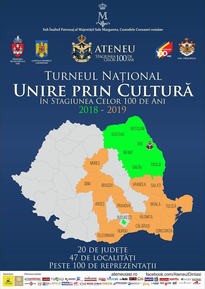 """Turneul Național """"Unire prin cultură"""" – Ateneul din Iași ajunge în Constanța, cu piesa """"Take, Ianke și Cadâr"""""""