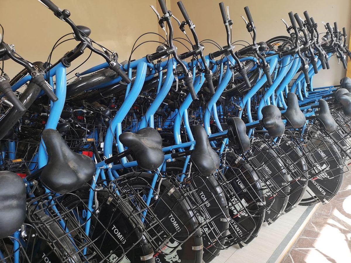 bike-sharing constanța