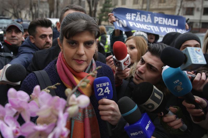 Laura Codruța Kovesi, plasată sub control judiciar