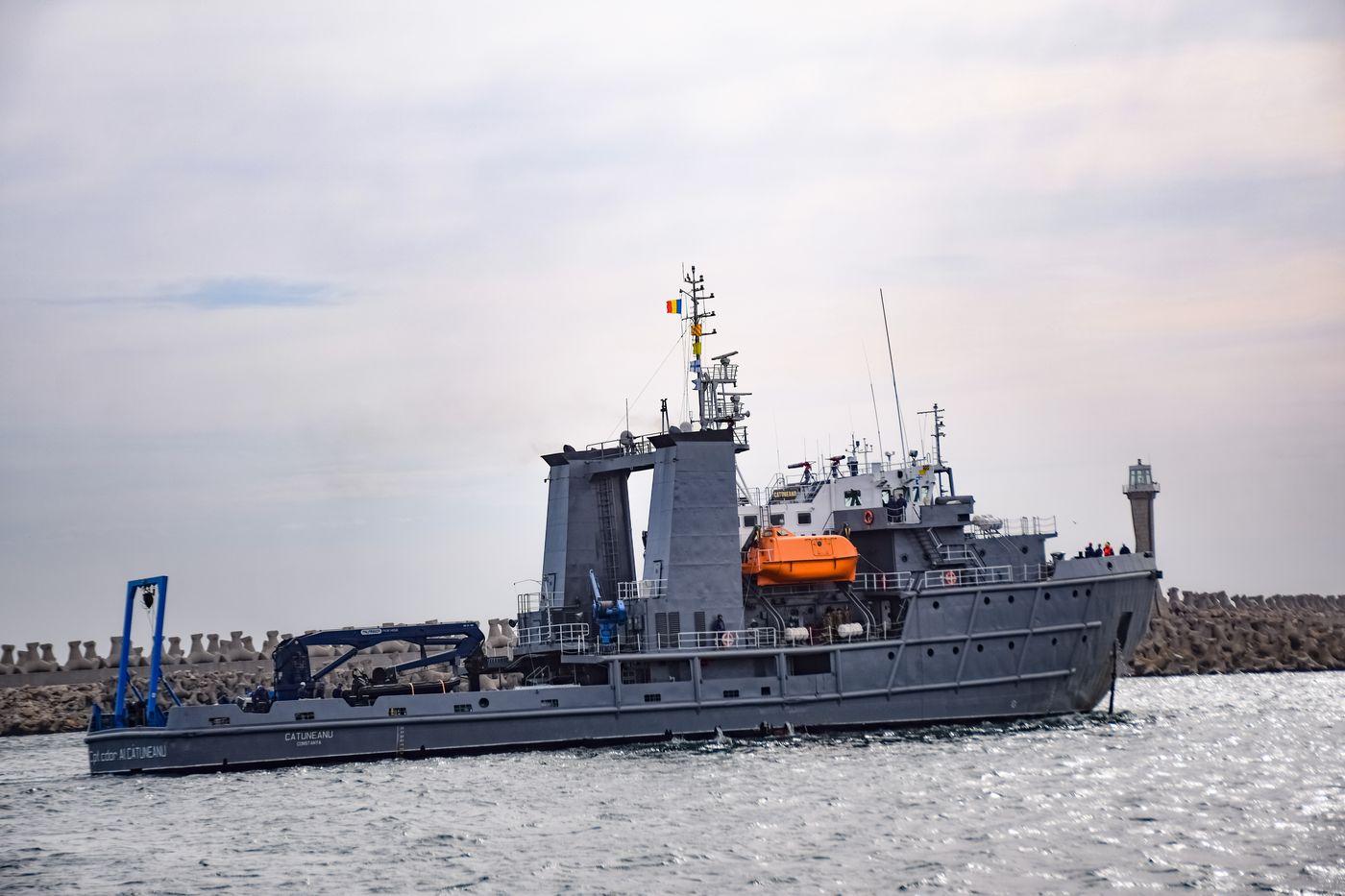 """Nava Maritimă Hidrografică """"Alexandru Cătuneanu"""""""