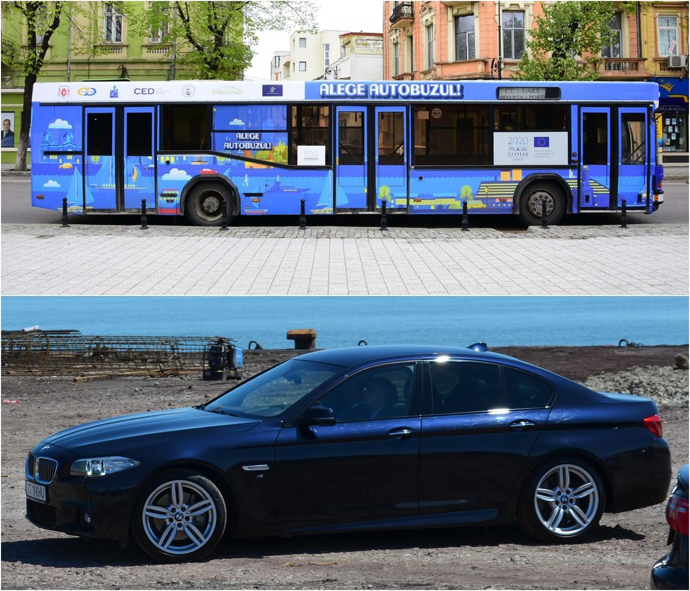 alege autobuzul