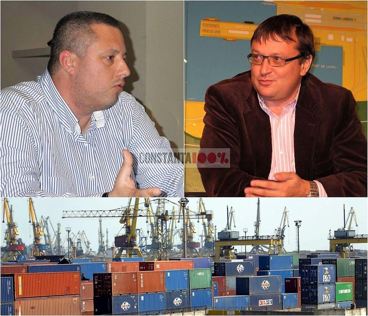 Larențiu Mironescu și Eugen Bogatu, doi dintre inculpații în acest dosar