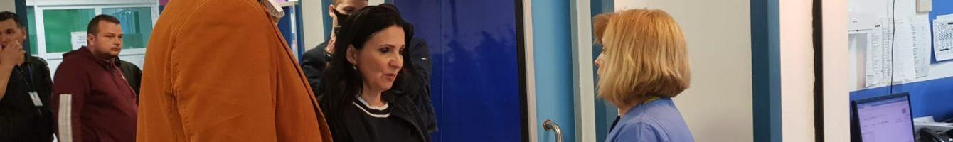 sorina pintea ministrul sănătății control inopinat spitalul județean constanța