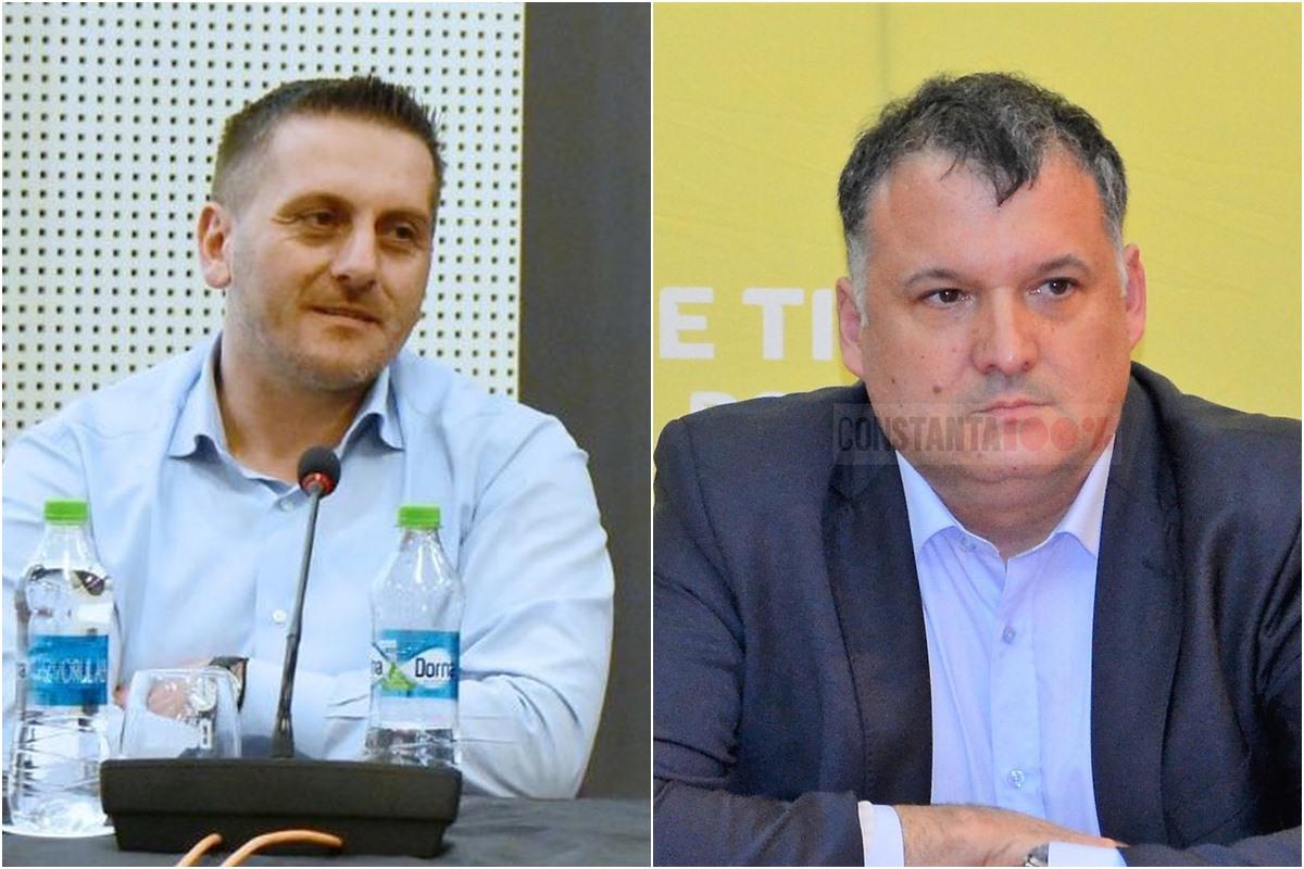 Dumitru Babu și Bogdan Huțucă, doi politicieni aflați într-un duel la distanță