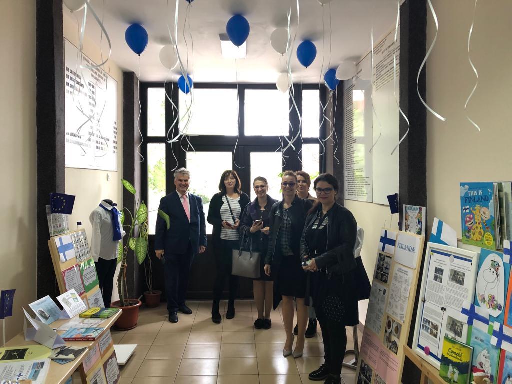 Ziua Europei Celebrată La școala Gheorghe țițeica Din
