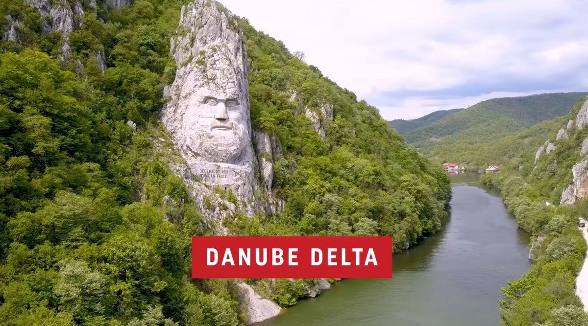 Turkish Arilines promovează basoreliefului lui Decebal din Delta Dunării?!