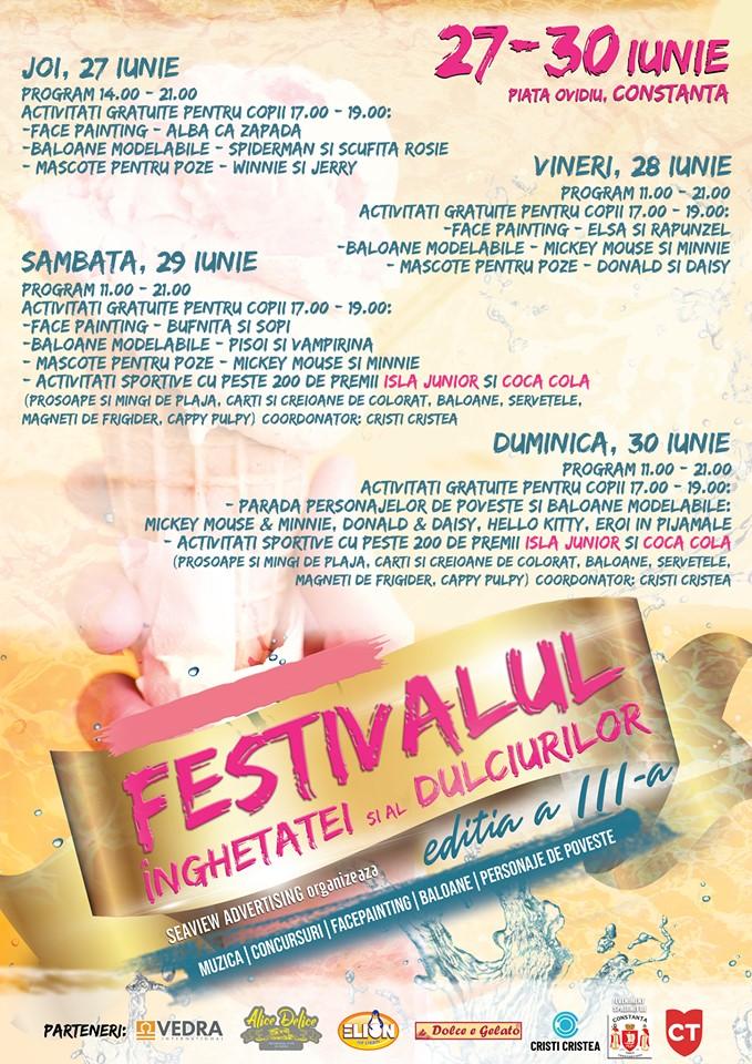festivalul înghețatei