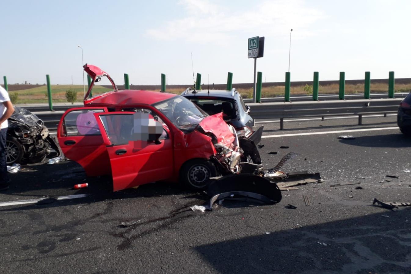Accident Autostrada Soarelui, 22 iulie 2019