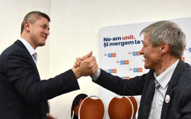Dan Barna și Dacian Cioloș