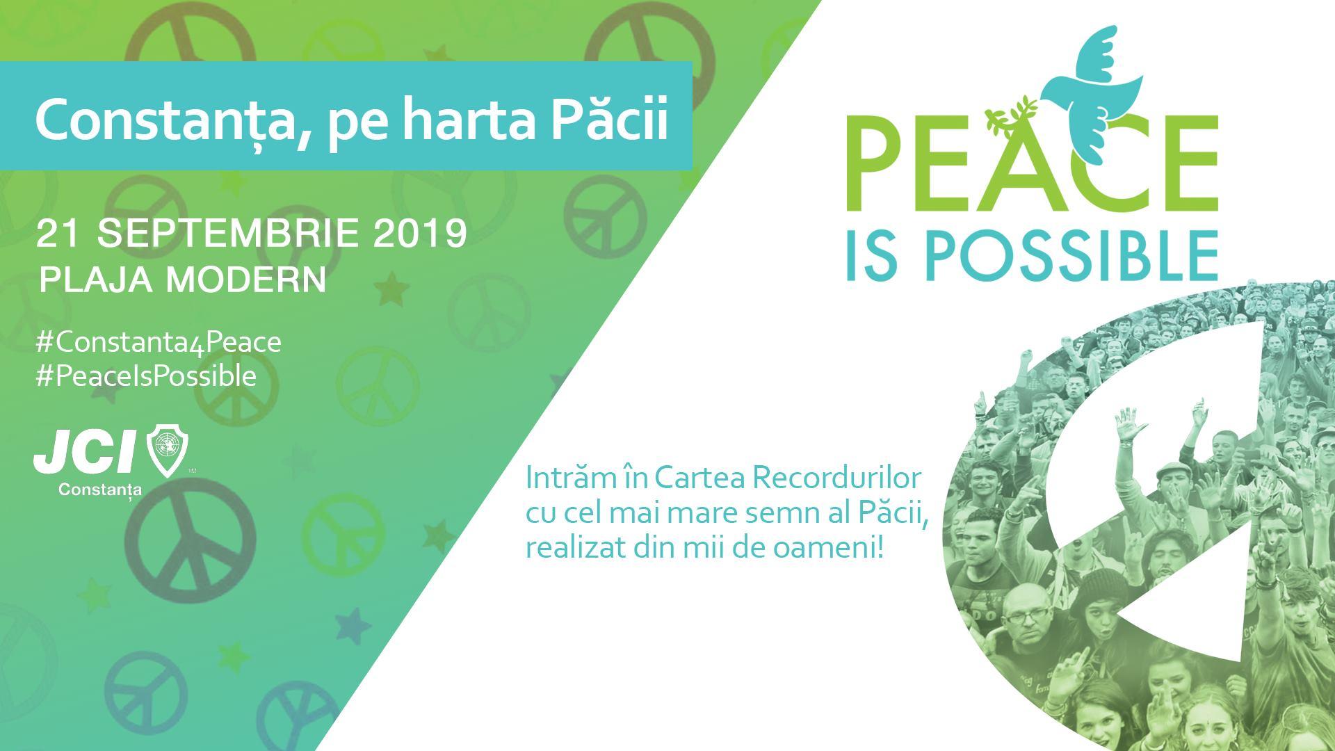 cel mai mare semn uman al păcii