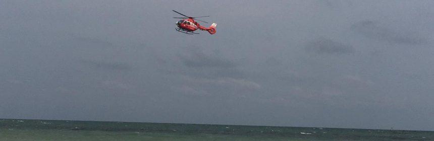 elicopter SMURD inecat vama veche