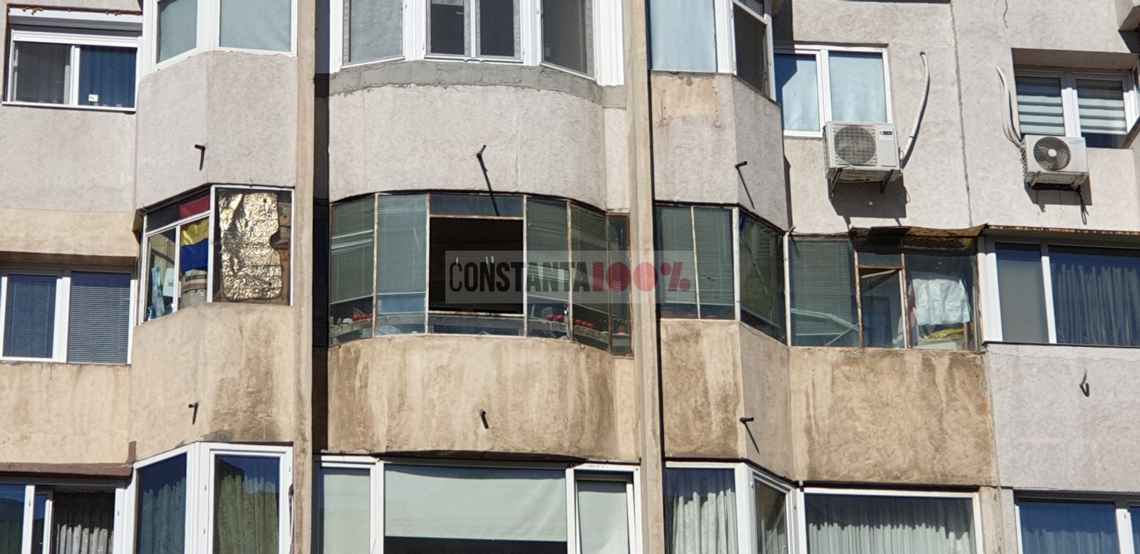 Bloc din zona Trocadero, Constanța