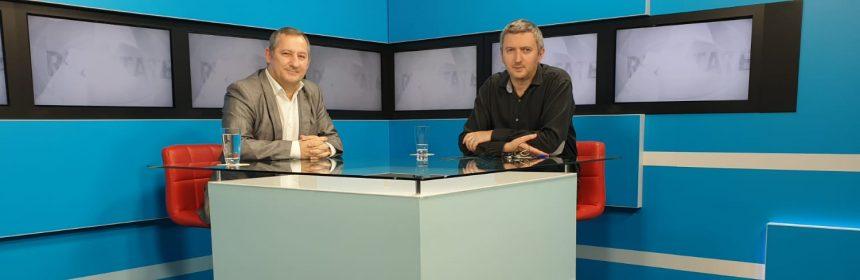 Dorin Popescu in platoul Dobrogea TV