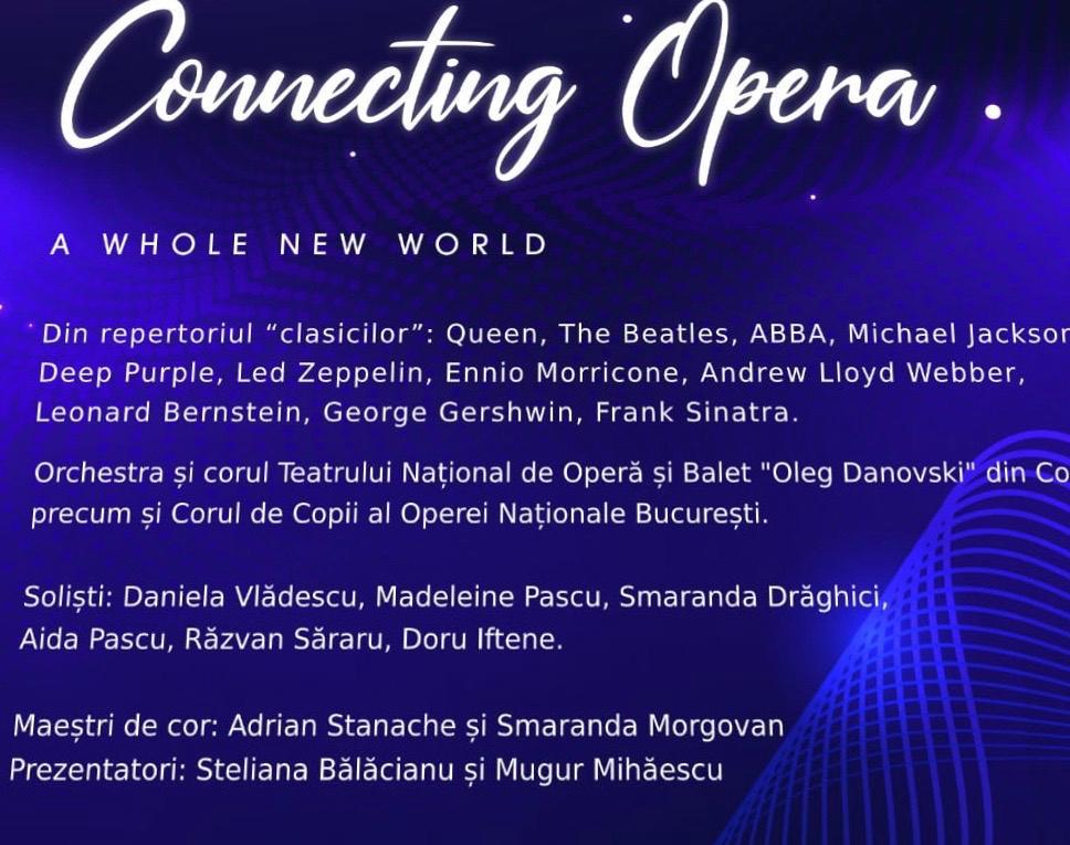 Connecting Opera - concert caritabil în Constanța