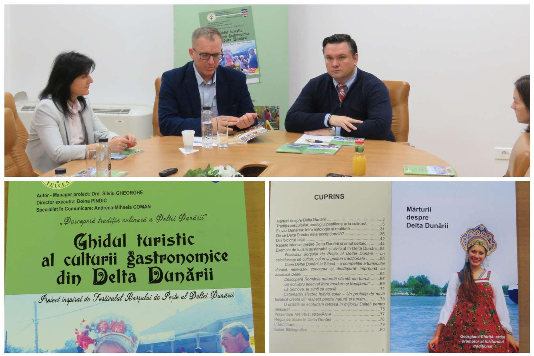 Ghidul turistic al culturii gastronomice din Delta Dunării