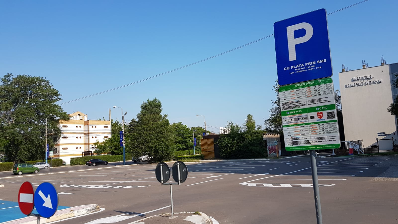 parcare in mamaia