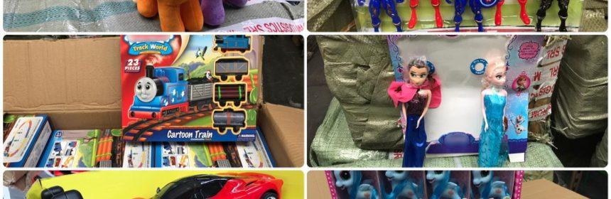 jucării contrafăcute