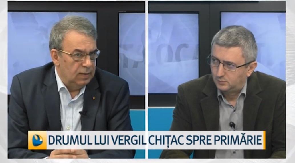 Vergil Chițac la Dobrogea TV