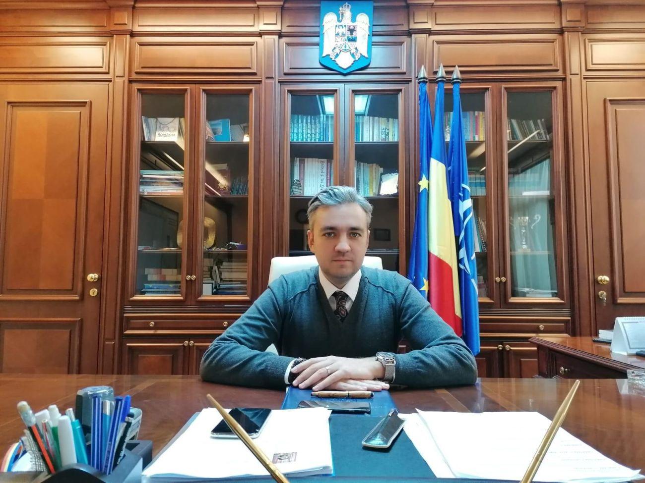 prefectul Constanței, George Niculescu