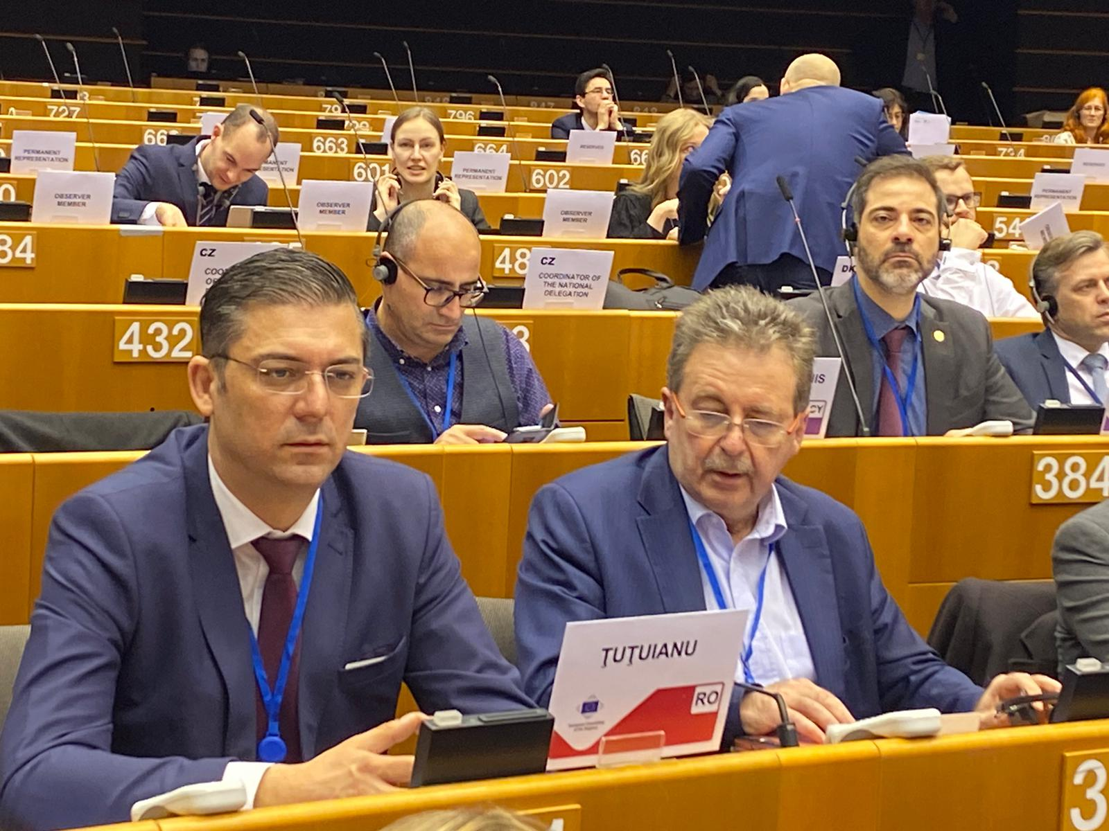 Horia Țuțuianu, președintele CJC, reprezintă Constanța la Bruxelles