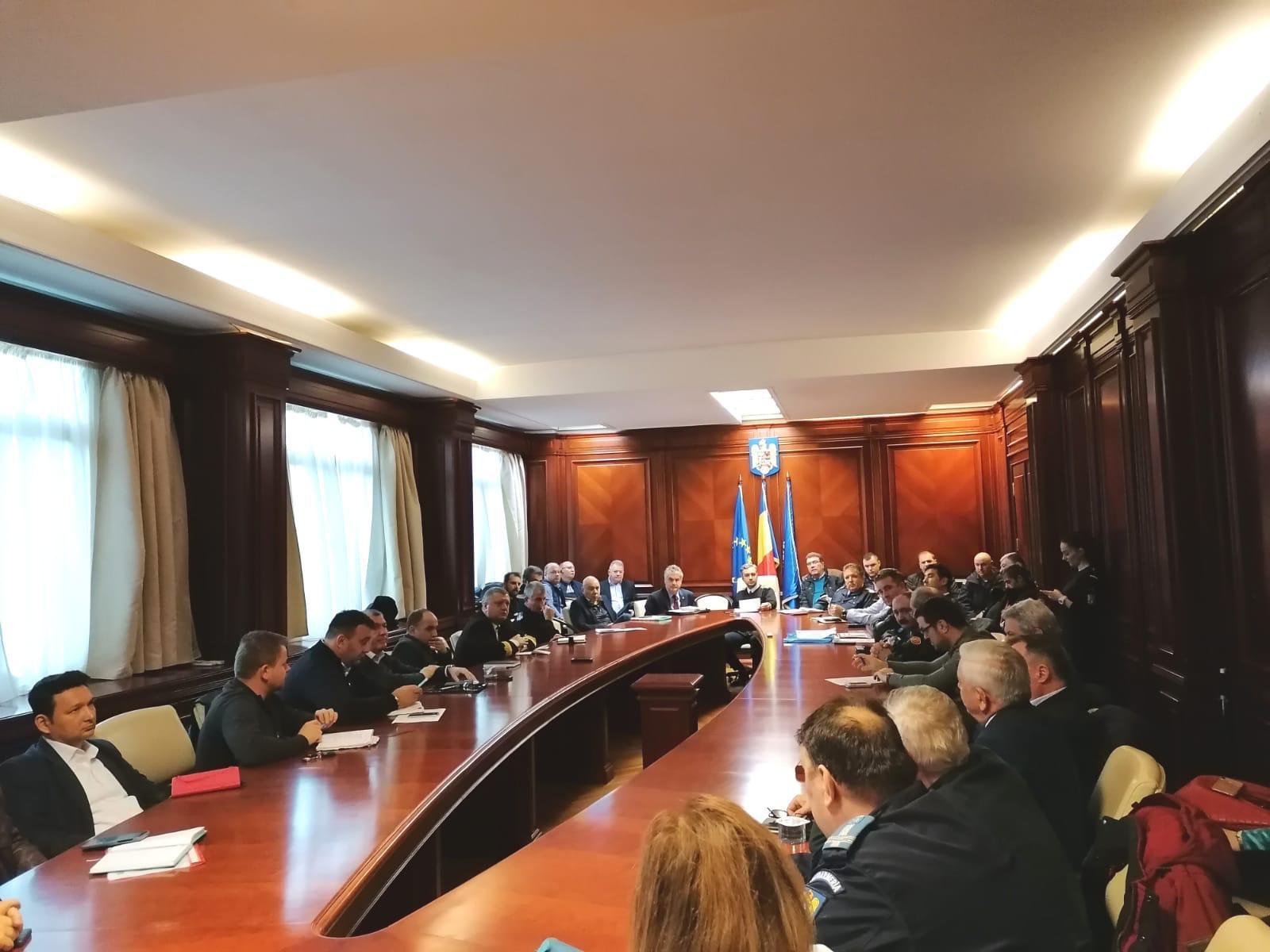 Măsuri luate de Instituția Prefectului – Județul Constanța, în contextul fenomenelor meteorologice severe anunțate la nivel național