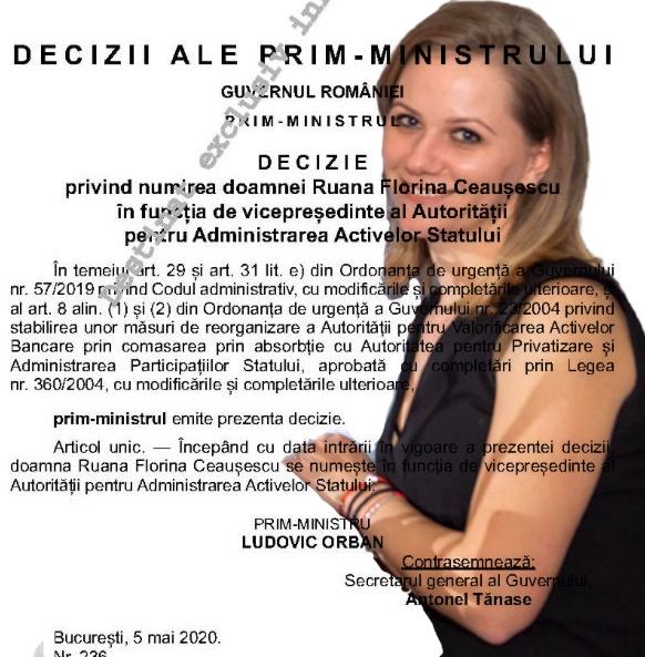 Ruana Florina Ceausescu