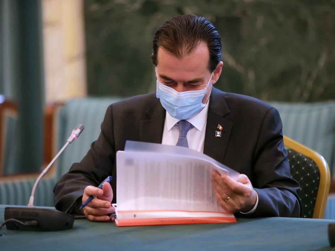 Ludovic Orban, premierul României