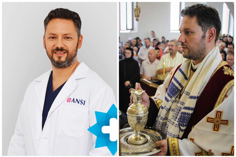 Ștefan Mindea în dublă ipostază: medic și diacon