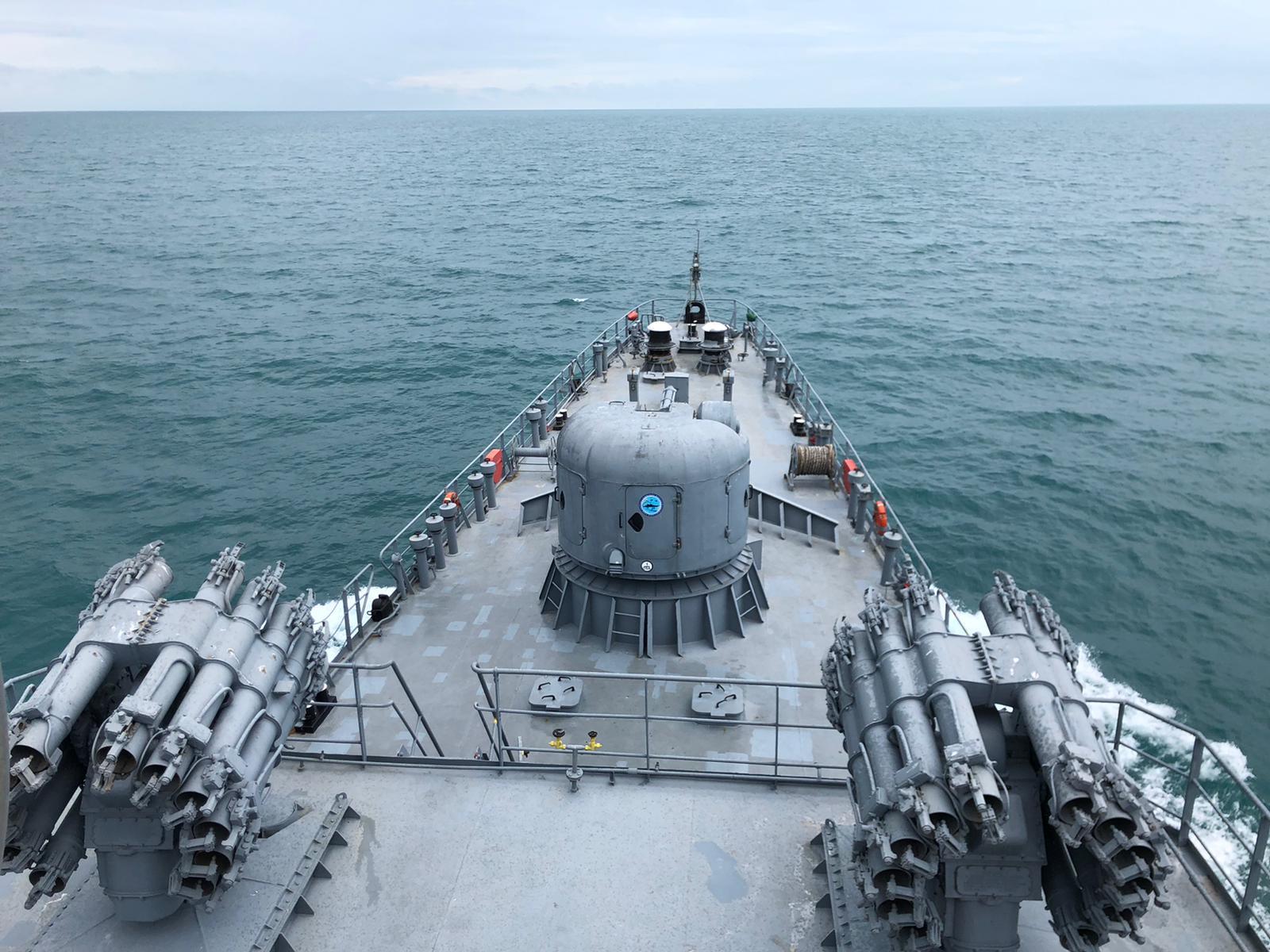 Militari din România și Ucraina, exerciții comune în apele internaționale ale Mării Negre FOTO (2)