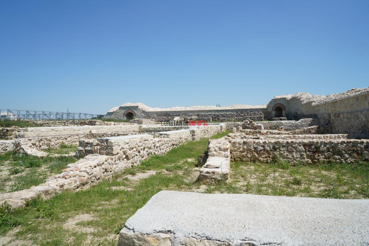 Cetatea Capidava. Foto: Matca Vision Studio, iunie 2020