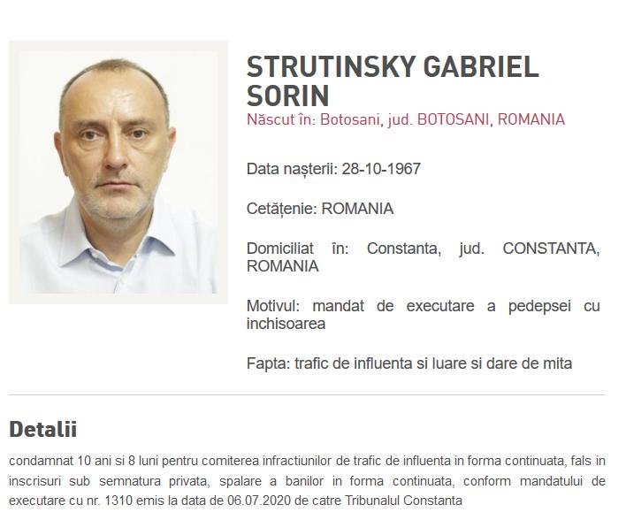 sorin strutinsky urmarit national