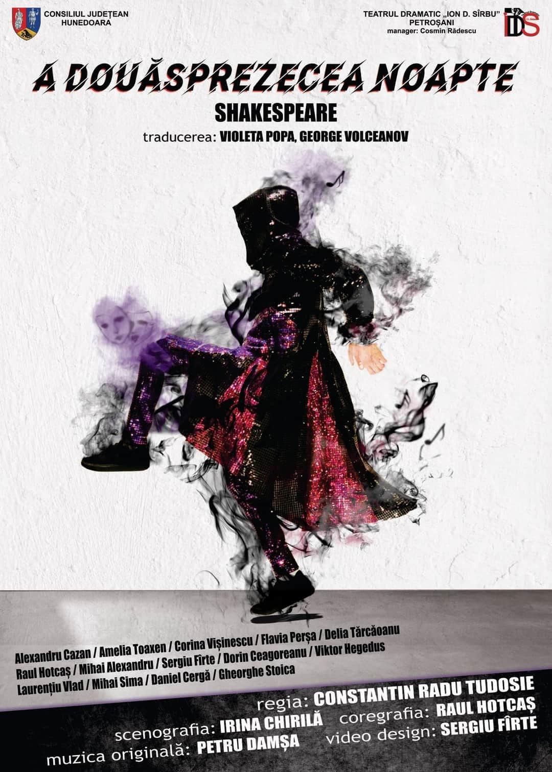 """""""A douăsprezecea noapte"""" de Shakespeare în Parcul Arheologic și poveștile lui Creangă pe scena de la Perla"""