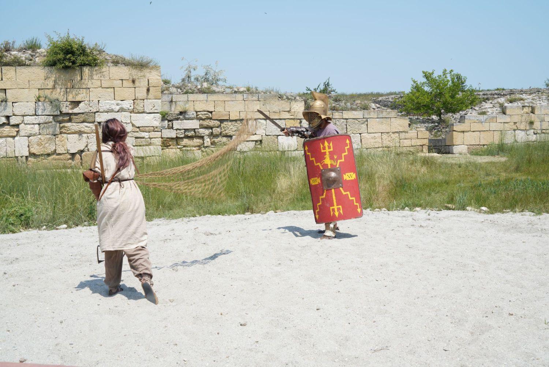 Lupte de gladiatori în cetatea Histria